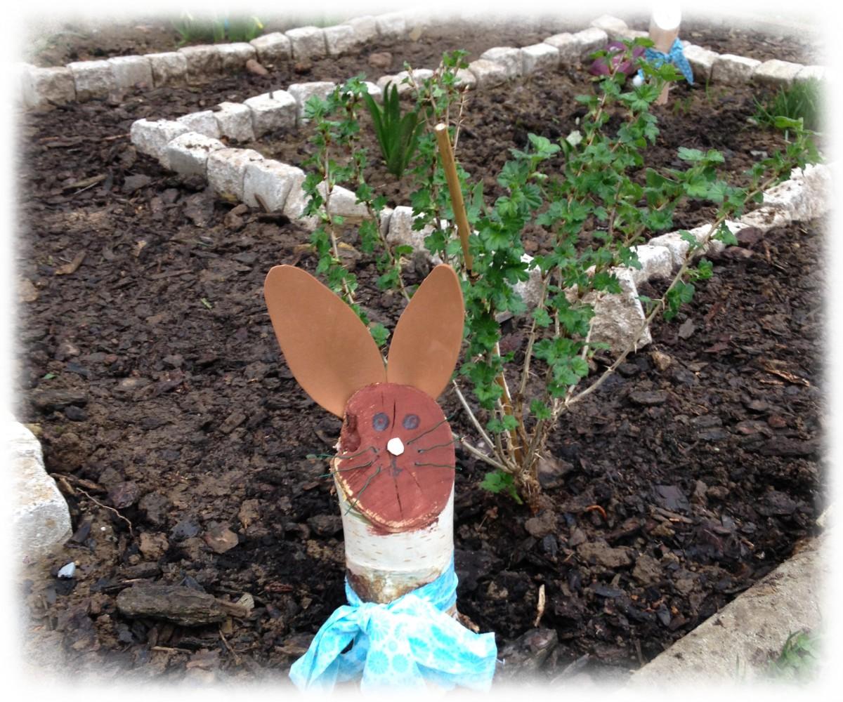 Ein-Hase-im-Schulgarten